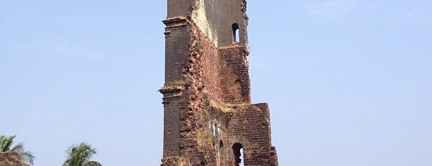 The Tower of The Church of St. Augustine is one of UNESCO World Heritage Sites (Asia).