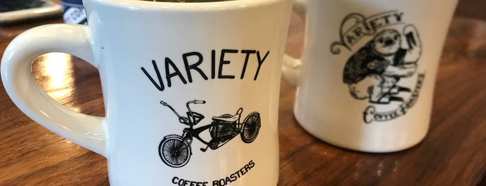 Variety Coffee Roasters is one of New York's Best Coffee Shops - Manhattan.