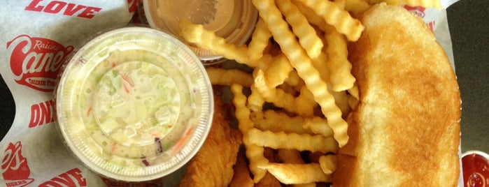 Raising Cane's Chicken Fingers is one of Baton Rouge Places to Eat.