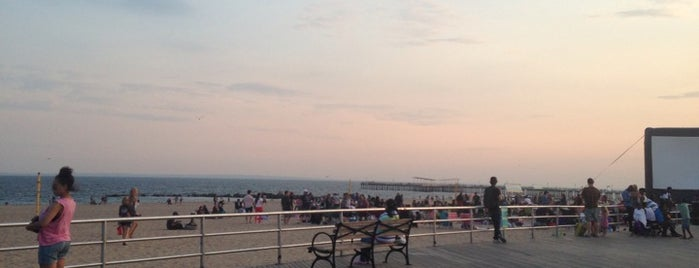 Ocean Parkway Beach is one of The 50 Most Popular Beaches in the U.S..