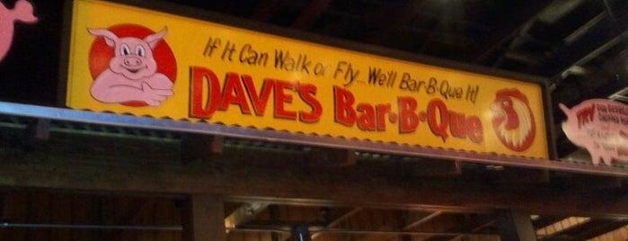 Famous Dave's is one of Been here before.