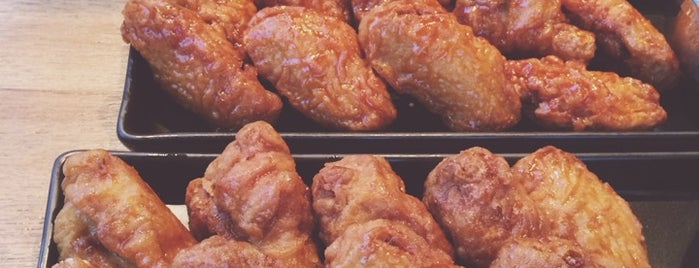 BonChon Chicken is one of Bangkok Gastronomy.
