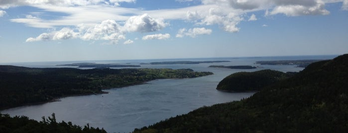 Acadia Mountain Summit (681') is one of Maine!.