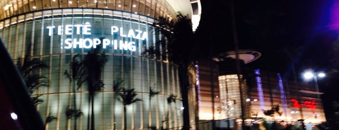Tietê Plaza Shopping is one of São Paulo.