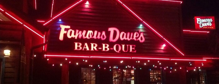 Famous Dave's is one of Places I've ate at.