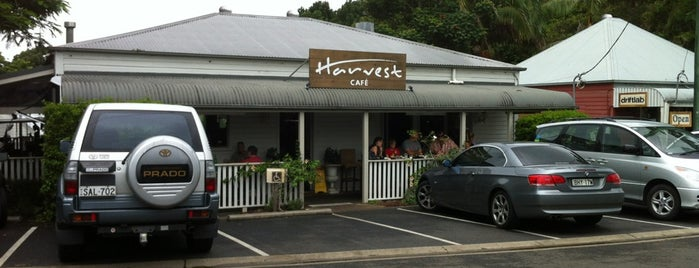 Harvest Cafe is one of Vege friendly.