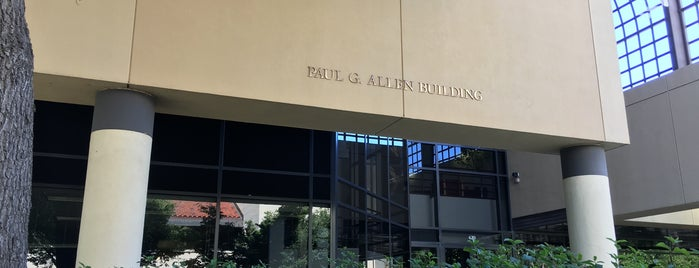Paul G. Allen Building is one of A Visitors Guide to Silicon Valley by Steve Blank.