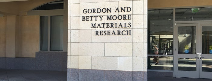 Gordon and Betty Moore Materials Research Building is one of A Visitors Guide to Silicon Valley by Steve Blank.