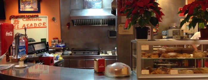 Cafeteria - Pizzeria El Asador is one of Restauración.