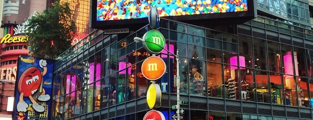 M&M's World is one of Ferias USA 2012.