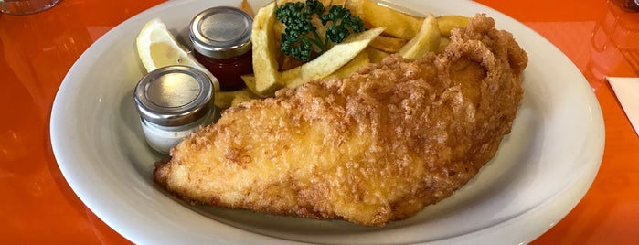 Poppie's Fish And Chips is one of London to try.