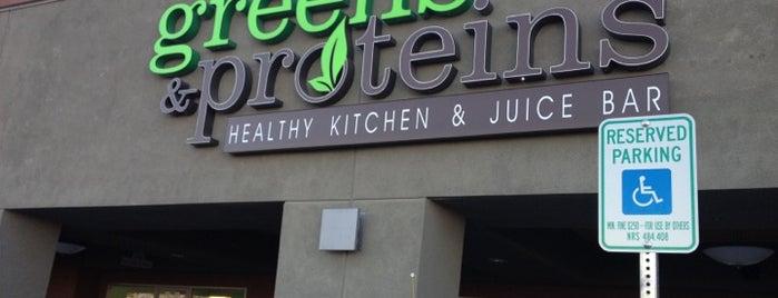Greens & Proteins is one of Vegan dining in Las Vegas.
