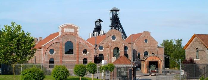 Bois du Cazier is one of Belgium / World Heritage Sites.
