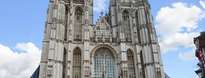 Onze-Lieve-Vrouwekathedraal is one of Belgium / World Heritage Sites.