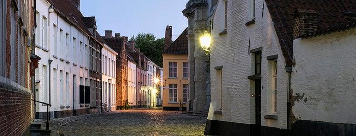 Begijnhof is one of Belgium / World Heritage Sites.