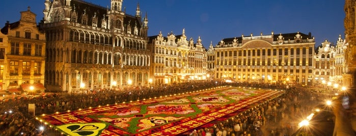 Grand Place is one of Belgium / World Heritage Sites.