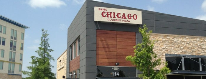 Classic Chicago's Gourmet Pizza is one of pizza places of world 2.