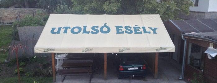 Utolsó Esély is one of Nemzetközi kocsmalista.