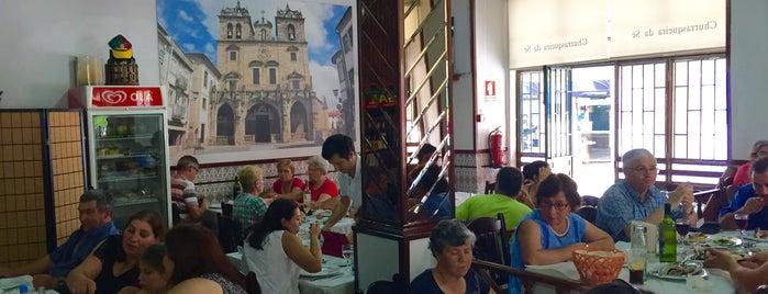 Churrasqueira da Sé is one of Restaurantes.