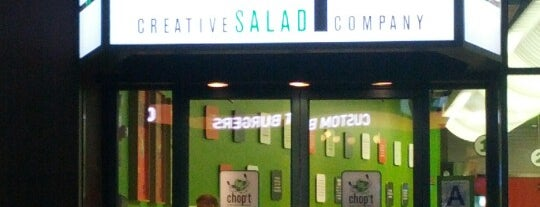 Chop't Creative Salad Company is one of Midtown Lunch Spots.