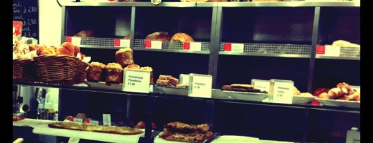 Exeter Street Bakery is one of London best.