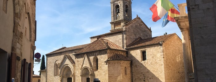San Quirico D'Orcia is one of Просто.