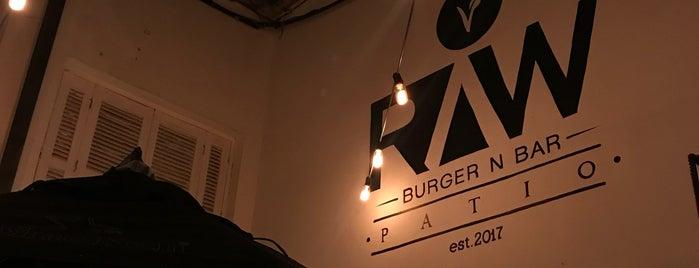 Raw Burger N Bar Veggie is one of VeganSP.