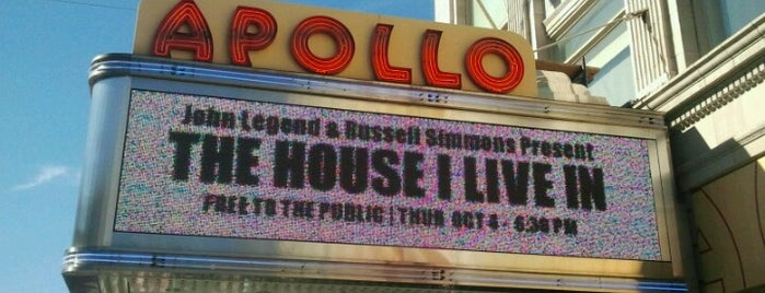 """Apollo Theater is one of """"Be Robin Hood #121212 Concert"""" @ New York!."""