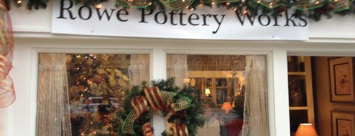 Rowe Pottery Works is one of Cedarburg.