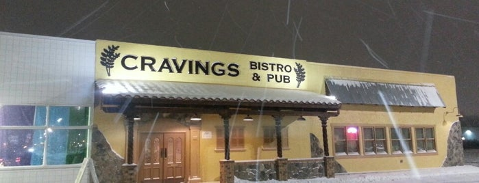 Cravings Bistro & Pub is one of Michigan Breweries.