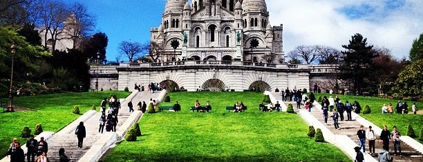 Sacré-Cœur Basilica is one of Where should Alice & I go in Paris?.