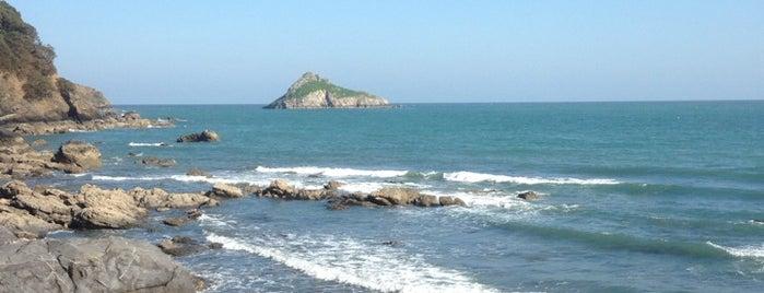 Meadfoot Beach is one of Devon.