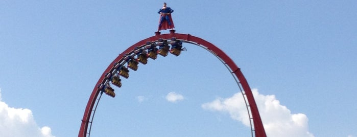 SUPERMAN: Krypton Coaster is one of Roller Coaster Mania.
