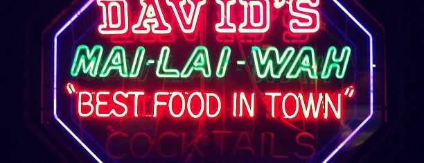 David's Mai Lai Wah Chinese is one of Philadelphia.