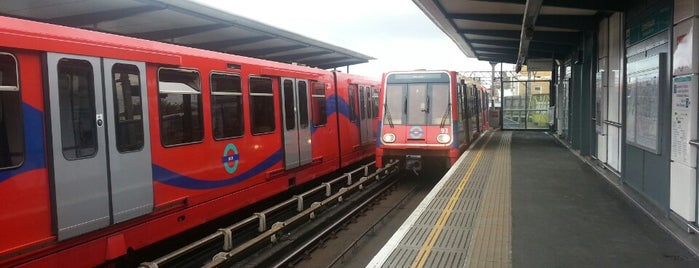 Limehouse DLR Station is one of Rail stations.