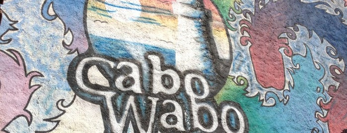 Cabo Wabo is one of Cabo.