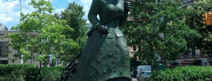Harriet Tubman Memorial is one of NYC Percent for Art.