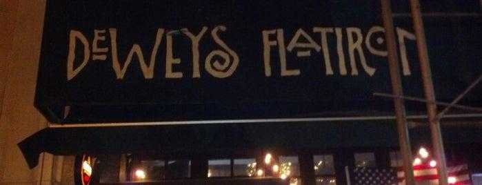 Dewey's Flatiron is one of Bars in New York City to Watch NFL SUNDAY TICKET™.