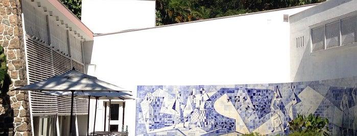 Instituto Moreira Salles (IMS) is one of Travel Guide to Rio de Janeiro.