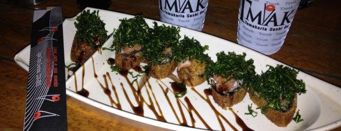 Tmak Temakeria & Sushi Bar is one of Ir em BH.