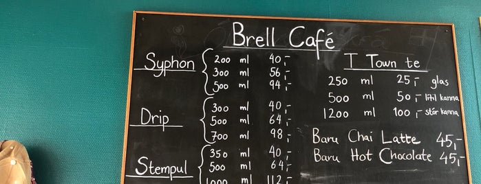 Brell Cafe is one of To drink Nordic.