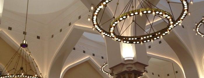 جامع محمد بن عبدالوهاب / State Grand Mosque is one of Volta ao Mundo oneworld: Doha.