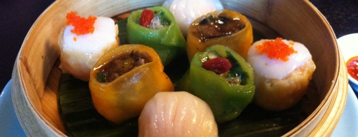 Hakkasan is one of Dumpling To-Do.