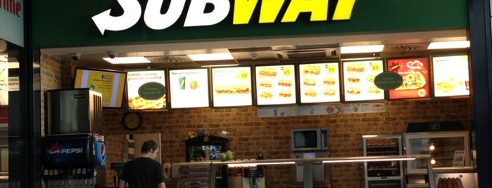 SUBWAY is one of Restaurace.