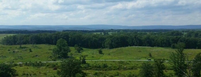 Little Round Top is one of Favorite places.