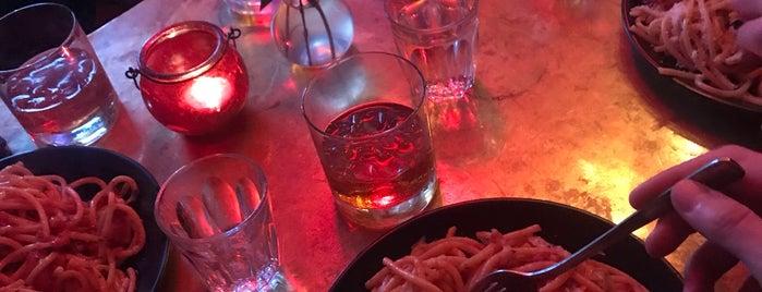 Oi Spaghetti + tiramisu is one of London.