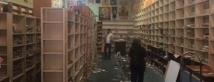 Book Castle / Movie World is one of Weird LA.