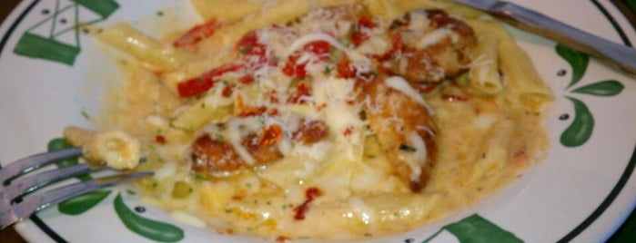 Olive Garden is one of Lukas' South FL Food List!.