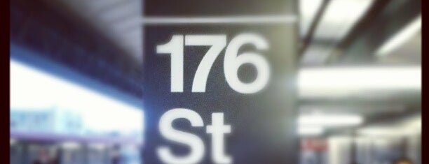 MTA Subway - 176th St (4) is one of NYC Subways 4/5/6.