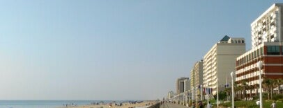 Virginia Beach Boardwalk is one of The 50 Most Popular Beaches in the U.S..